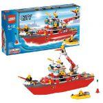 Лего Пожарный катер (лего 7207)