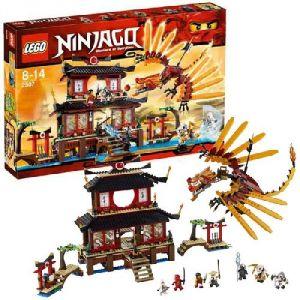 Лего Ниндзяго Огненный Храм (lego 2507)