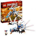 Ниндзяго Атака Ледяного Дракона (лего 2260)