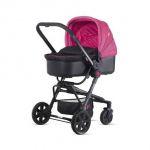 Детская коляска 2 в 1 Chipolino Maxima X3M pink