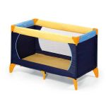 Детский манеж Dream n Play Plus yellow/blue/navy