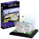 Белый дом с иллюминацией  (Вашингтон)