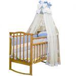 """Детская кроватка Агат """"Золушка-1"""" светлая"""