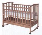 """Детская кроватка Агат """"Золушка-2"""" вишня"""